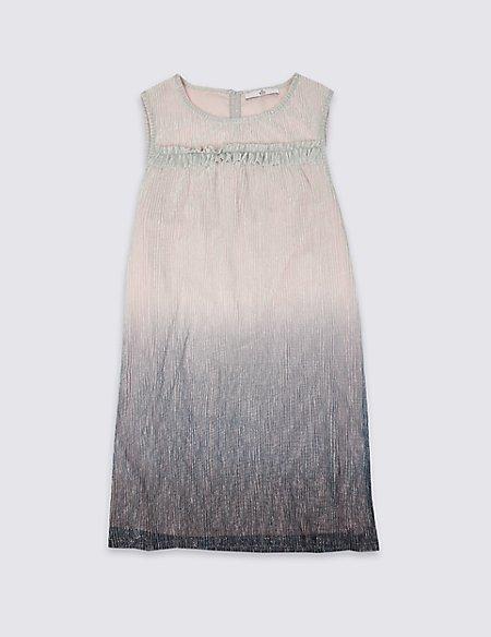 Plisse Multi Dress (3-16 Years)