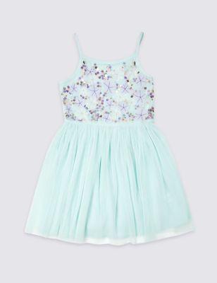 48f22ab41 Embellished Pleated Dress (3-16 Years) £32.00 - £38.00
