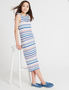 Striped Dress (3-16 Years)