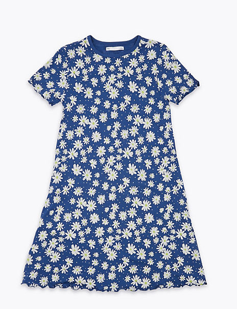 Floral Print Dress (6-16 Years)