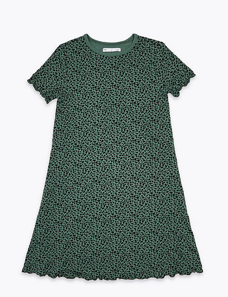 Animal Print Dress (6-16 Years)