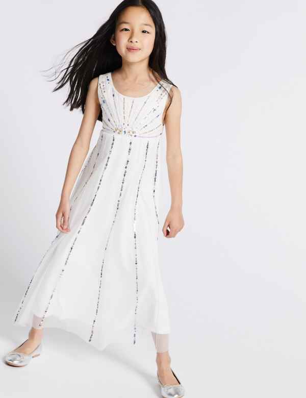 28ec3ba63e30 Sequin Maxi Dress (3-16 Years)
