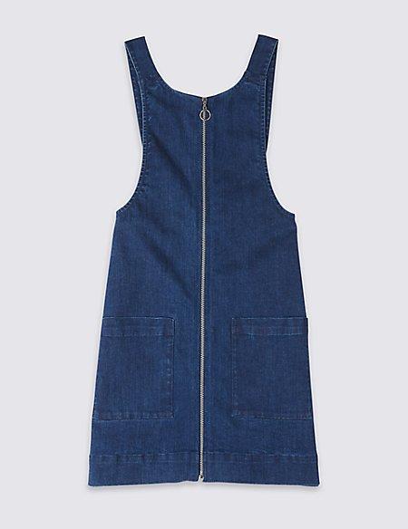 Denim Pinafore Dress (3-16 Years)
