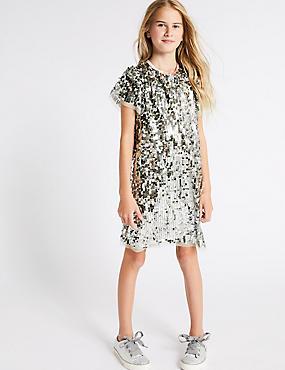 Sequin Dress (3-16 Years)