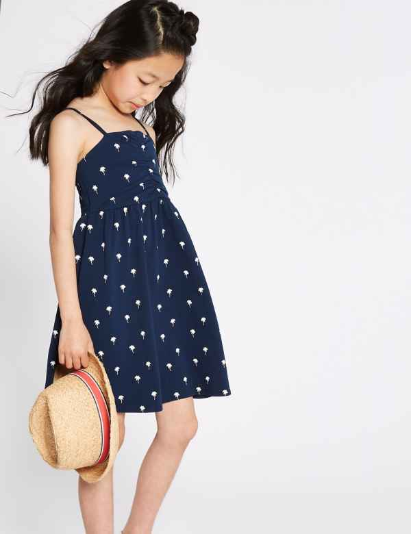 dac04fdcc2fe Girls' Days Dresses | Long Floral & Cute Maxi Dresses for Girls | M&S