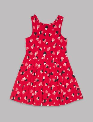 09ded61563 All Over Heart Print Dress (3-16 Years) £17.00 - £21.00