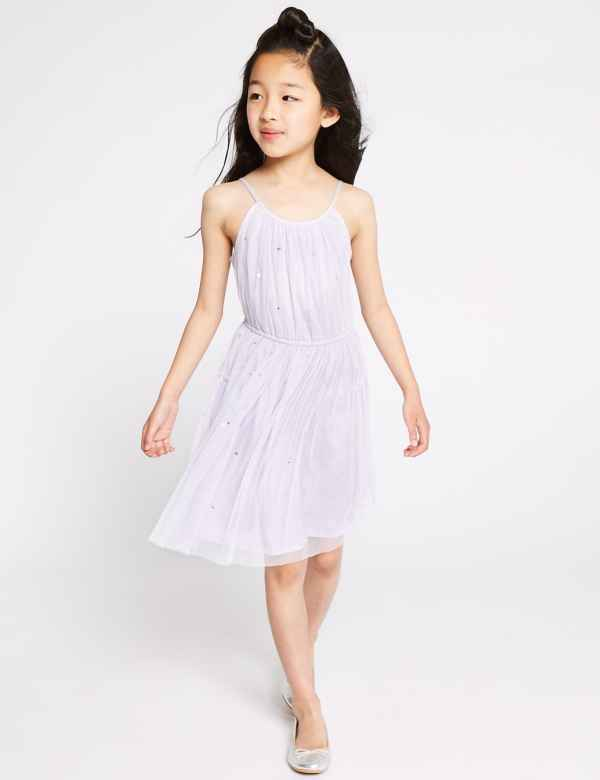 3f920bf071fd5 Sequin Mesh Dress (3-16 Years). New Lower Price