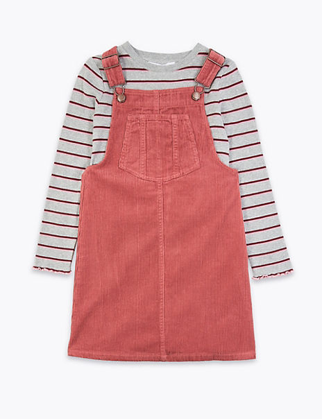 2 Piece Cord Pinafore Outfit (6-16 Years)