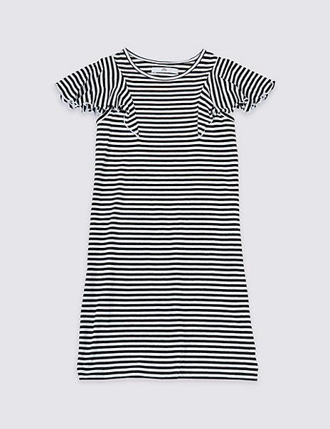 Striped Jersey Dress (3-16 Years)