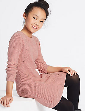Knitted Dress (3-14 Years)