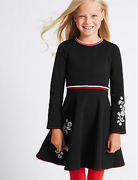 Embroidered Dress (3-14 Years)