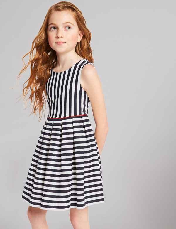 859c55226e1c Striped Prom Dress (3-16 Years)