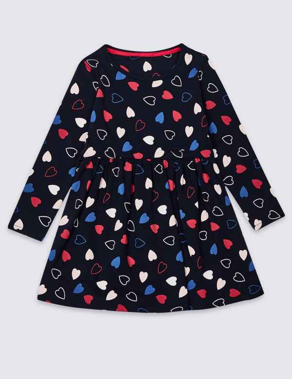 cdefc303 Easy Dressing Heart Dress (3-16 Years)