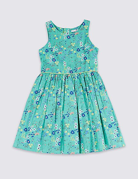 Floral Print Prom Dress (3-16 Years)