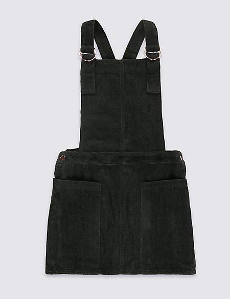 Cord Pinny Dress (5-14 Years)