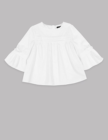 Pure Cotton Blouse (3-16 Years)