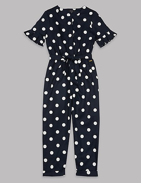 Spotted Jumpsuit (3-16 Years)
