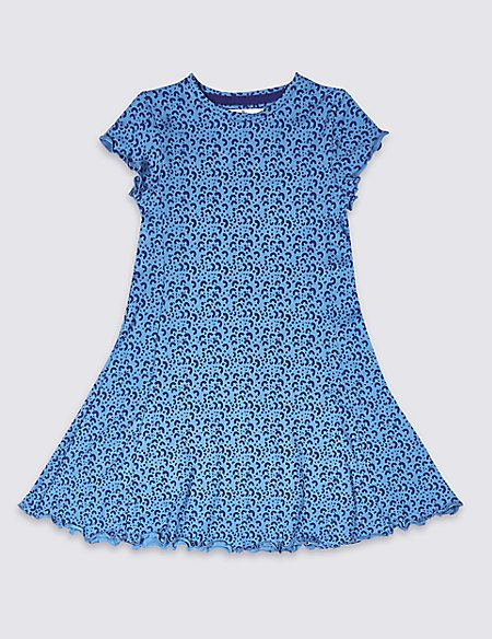 Cotton Dress with Stretch (3-16 Years)
