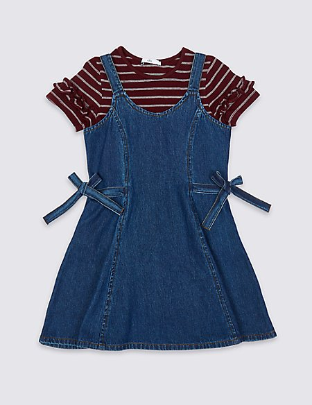 2 Piece Dress & Top Outfit (3-16 Years)