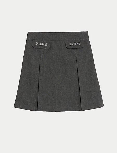 Junior Girls' Embroided Skirt