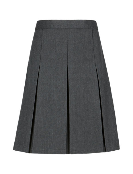 Girls' Permanent Pleats Traditional Skirt