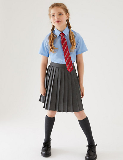 bb119fe76b Girls' Easy Dressing Skirt | School Skirts | Marks and Spencer JE