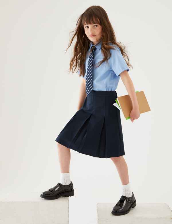 88f43bb296 School Skirts | Black, Grey & Navy School Skirts | M&S