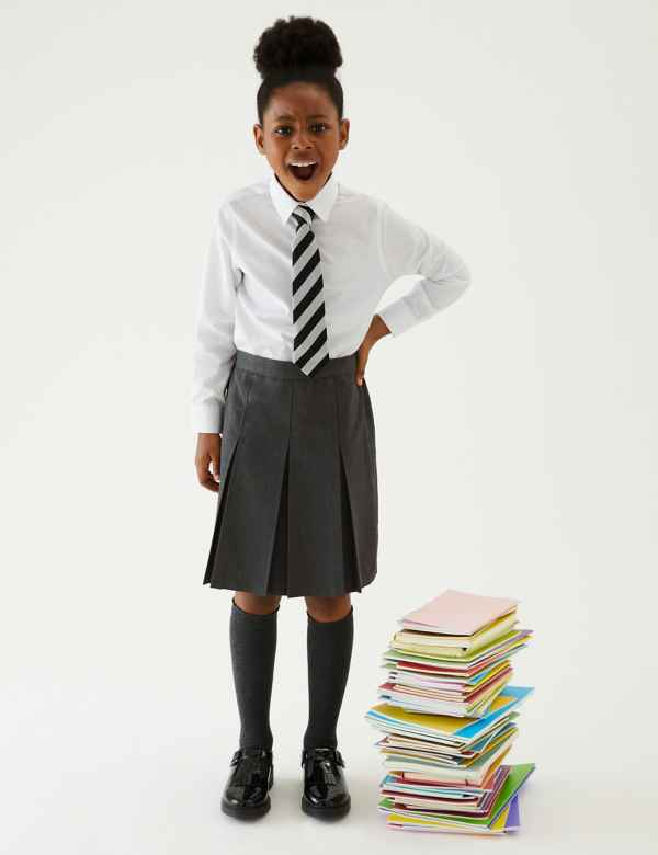 88f43bb296 School Skirts | Black, Grey & Navy School Skirts | M&S
