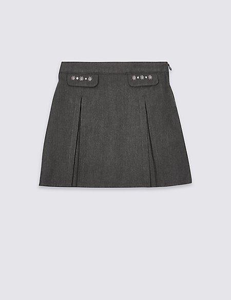 Junior Girls' Embroidered Skirt