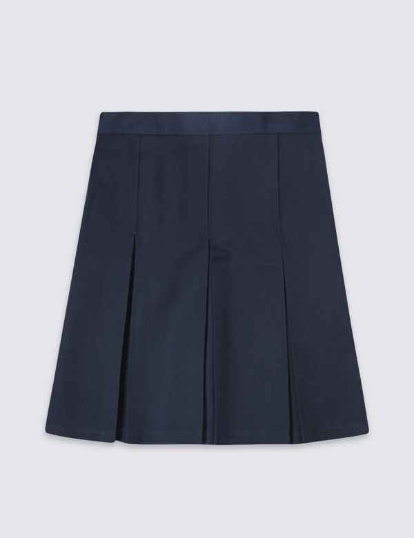 f1fadf752d4 Girls  Plus Fit Skirt with Permanent Pleats