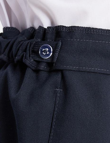 Girls' Plus Fit Permanent Pleats Skirt