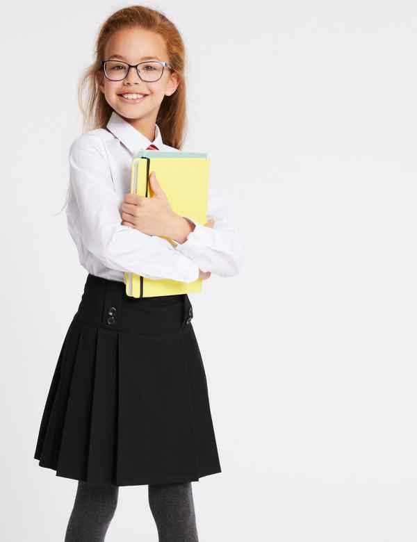 d7b7e8b9c School Skirts | Black, Grey & Navy School Skirts | M&S