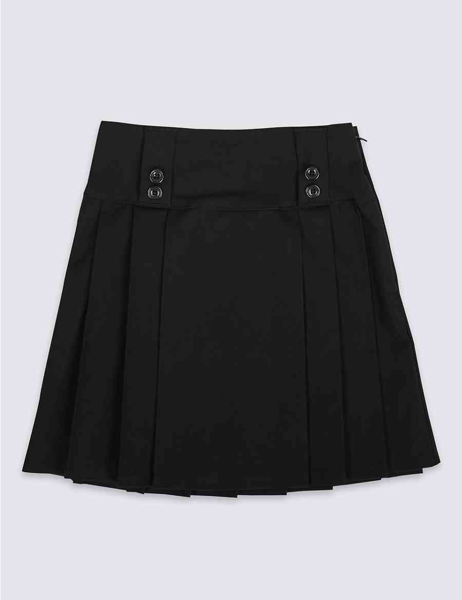 97f92c90d5a Girls  Slim Fit Pleated Skirt