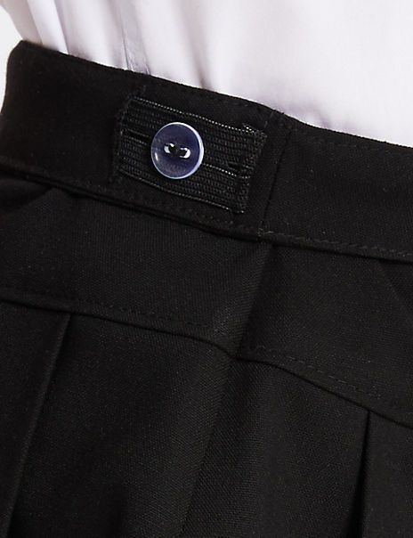 Girls' Plus Fit Pleated Skirt