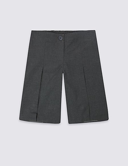 Girls' Culottes with Adjustable Waist