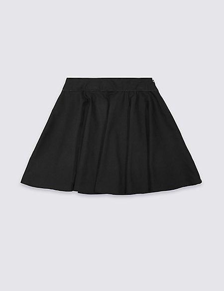Girls' Skater Skirt with Crease Resistant