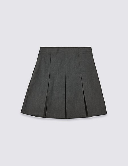 PLUS Girls' Permanent Pleated Skirt