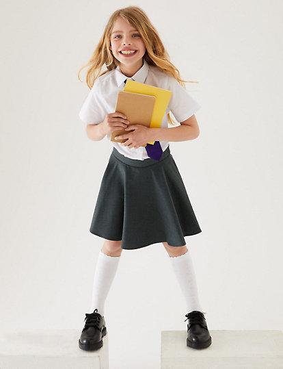 3cc53bfef Girls' Skater Skirt | School Skirts | Marks and Spencer JE