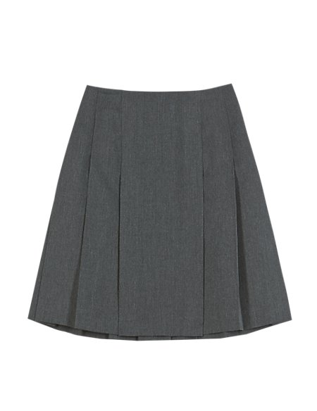 Girls' Crease Resistant Adjustable Waist Pleated Skirt with Triple Action Stormwear™