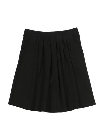 Senior Girls' Pleated Knit Skirt (Older Girls)