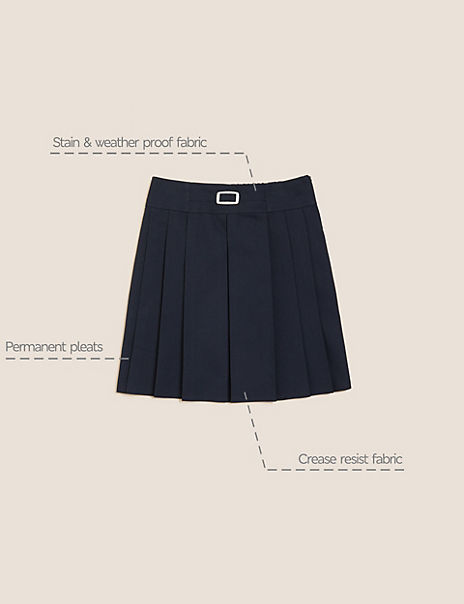 Girls' Permanent Pleats Skirt