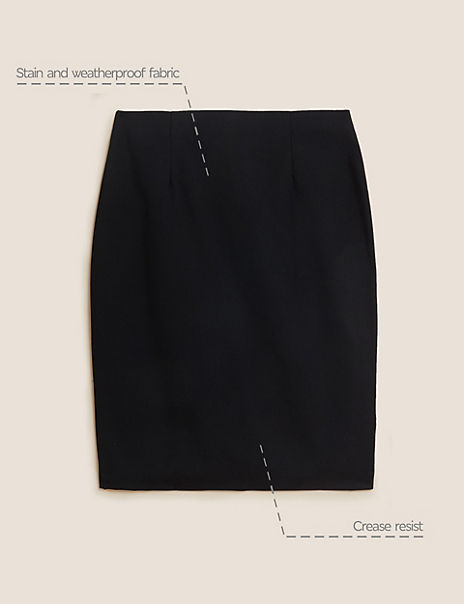Senior Girls' Long Pencil Skirt