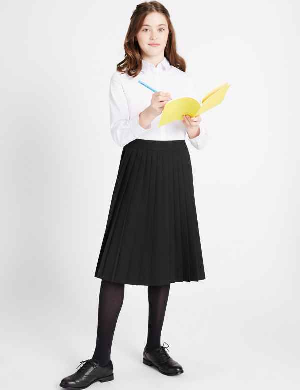 02fb8fc5de183 Senior Girls  Pleated Skirt