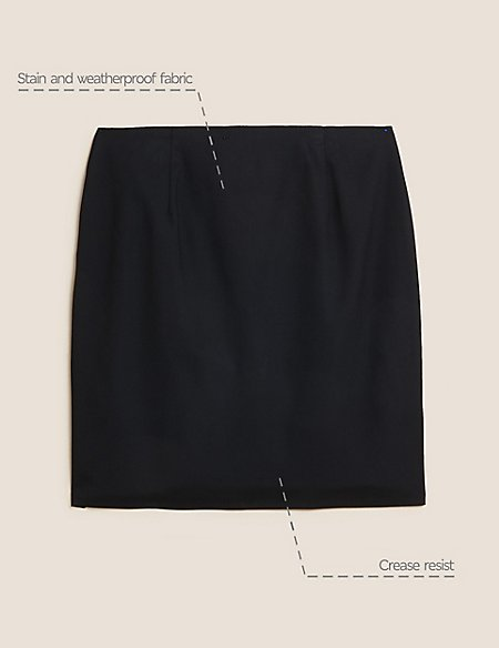 Senior Girls' Short Pencil Skirt
