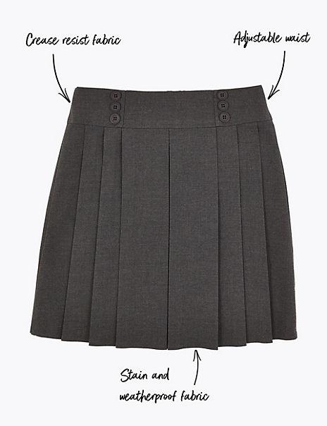 Girls' Permanent Pleats Skirt