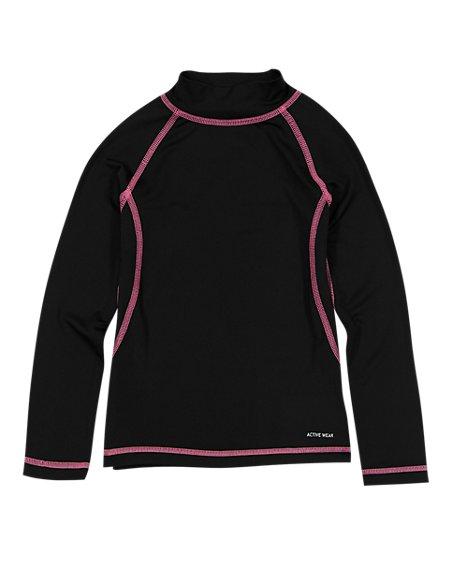 Girls' Base Layer Long Sleeve T-Shirt