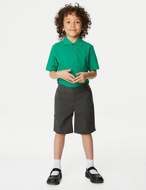 Girls' Regular Fit School Shorts (2-16 Yrs)