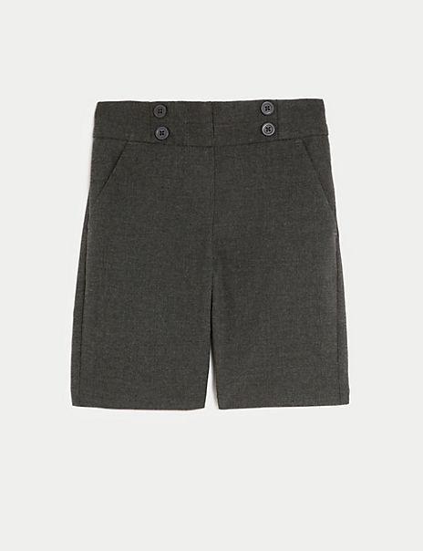 Girls' Regular Fit Shorts