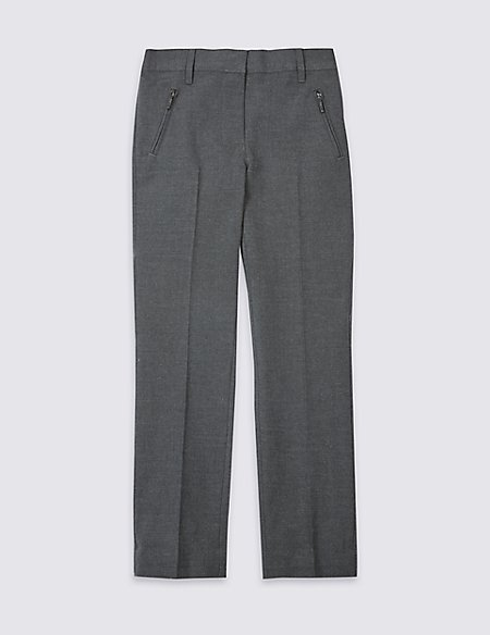 Girls' Slim Leg Slim Fit Trousers