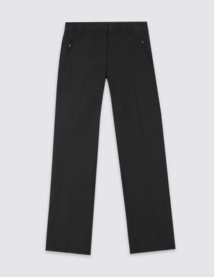 Girls' Slim Leg Plus Fit Trousers